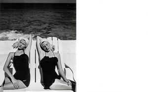 Twins-at-the-Beach-Nassau-1949-Photograph-by-Louise-Dahl-Wolfe-Collection-Staley-Wise-Gallery