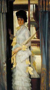 Portrait 1876 James Tissot 1836-1902 Purchased 1927 http://www.tate.org.uk/art/work/N04271