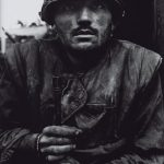 Shell-shocked US Marine, The Battle of Hue 1968, printed 2013  </p> 							<span class=